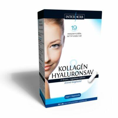 INTERHERB VITAL Kollagén & Hyaluronsav szépségkapszula 30db