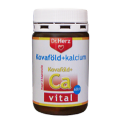 Kovaföld+Kalcium kapszula 60 db Dr. Herz