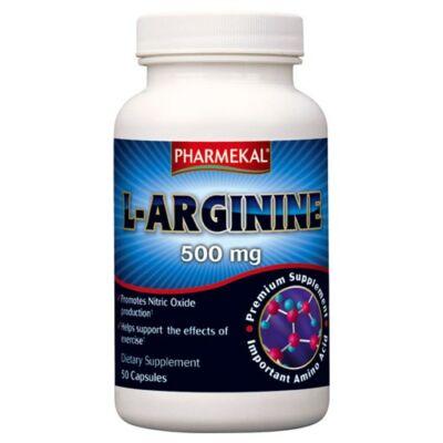 L-Arginin 500mg kapszula 50db Pharmekal