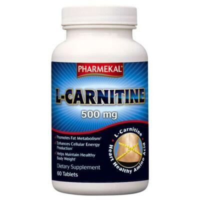 L-Karnitin 500mg 60db tabletta Pharmekal