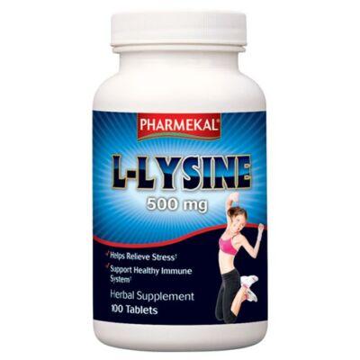 L-lysine (l-lizin) 500mg tabletta 100db Pharmekal