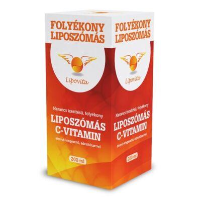 Lipovita folyékony liposzómás C-vitamin 200ml