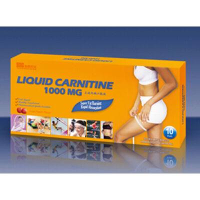 Liquid Carnitine L-Karnitin ampulla 1000mg 10x10ml