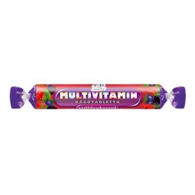 Multivitamin rágótabletta szőlőcukorral (erdei gyümölcs ízű) 17d