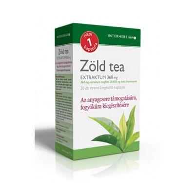 NAPI 1 Zöld tea Extraktum 30db Interherb