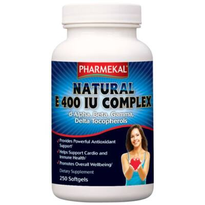 NATURAL E 400 IU komplex 250db Pharmekal