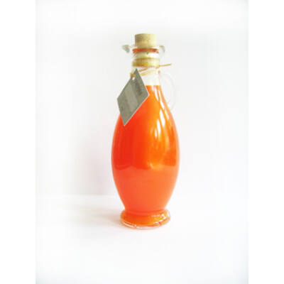 Narancs-fahéj tusfürdő díszüvegben 250ml Yamuna