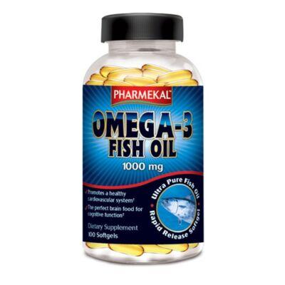Omega-3 halolaj kapszula 1000 mg 100 db Pharmekal