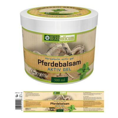 Pferdebalsam aktív gél Hűsítő lóbalzsam 500ml HERBioticum