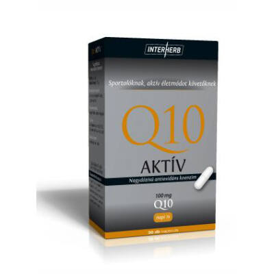 Q10 AKTÍV kapszula 100 mg 30 db
