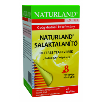 Salaktalanító tea filteres 25x1g  NATURLAND