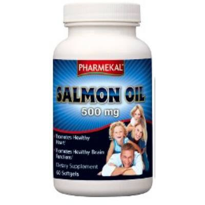 Salmon Oil SZŰZ LAZACOLAJ (OMEGA-3) 500mg 60db Pharmekal USA