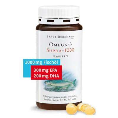 Sanct Bernhard Omega-3 Supra 1000mg 120db