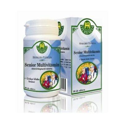 Senior Multivitamin étrend-kiegészítő tabletta 30db Herbária