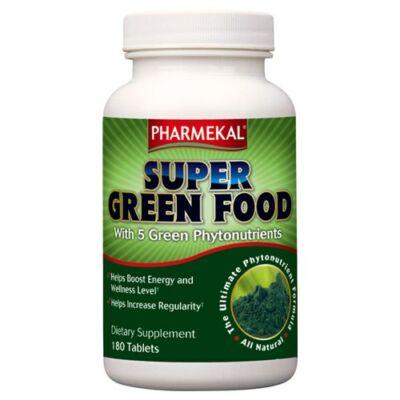 Super Green Food - Alga komplex 180 db Pharmekal