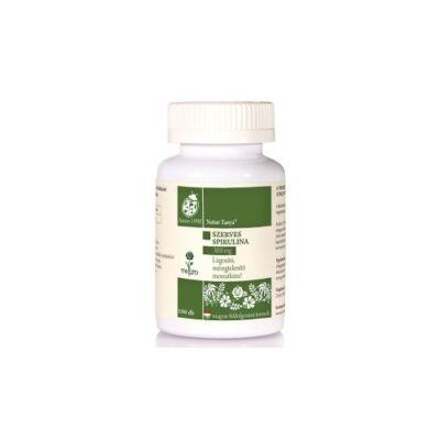 Szerves Spirulina alga tabletta 100 db Naturtanya