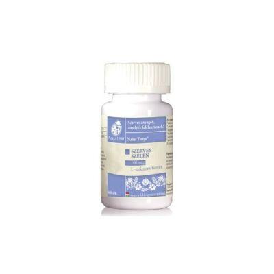 Szerves szelén tabletta 60 db Naturtanya