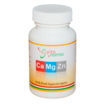 Vitanorma Kalcium – Magnézium – Cink tabletta 60db