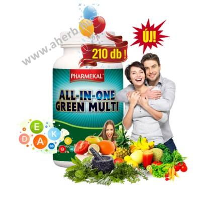 All in one green multi 210 db Pharmekal