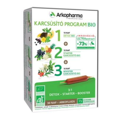 Arkofluids® BIO Karcsúsító kúra 30 nap - 3x10 db, Arkopharma