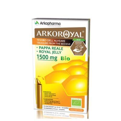 ARKOROYAL® BIO méhpempő ampulla 1500 MG (10 x 15ml)