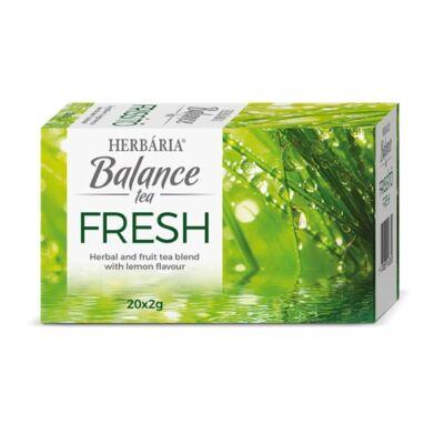 Balance Fresh frissítő tea 20 filter Herbária