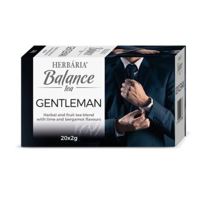 Balance Gentleman tea 20 filter Herbária