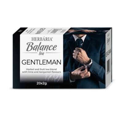 Balance Gentleman tea 20 filter Herbária