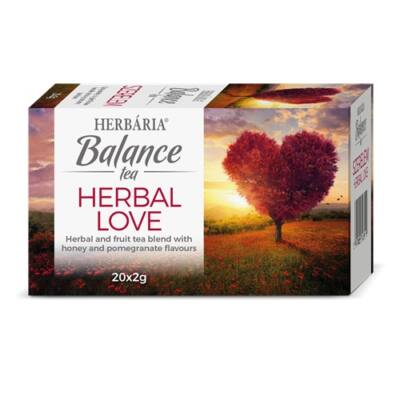 Balance SZERELEM – HERBAL LOVE tea 20 filter Herbária