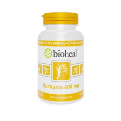Kurkuma 400 mg kapszula (70db) Bioheal