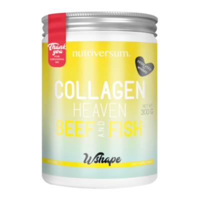 Collagen Heaven Beef & Fish - limonádé - 300 g - WSHAPE - Nutriversum
