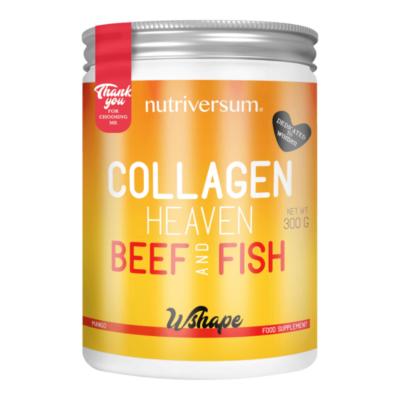 Collagen Heaven Beef & Fish - mangó - 300 g - WSHAPE - Nutriversum