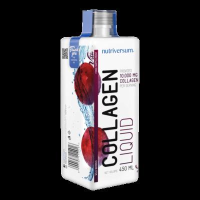 Collagen liquid 10000 mg erdei gyümölcs ízű 450 ml - VITA - Nutriversum