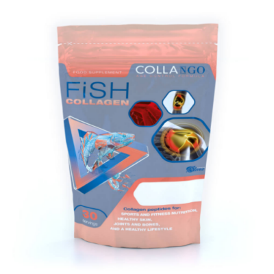 Collango Collagen Fish – halkollagén - meggy– 165g