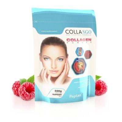 Collango Kollagén por málna ízű