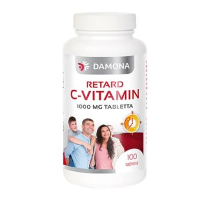 DAMONA C-vitamin 1000 mg retard 100db