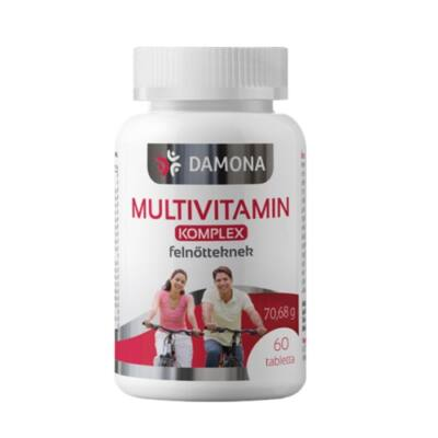 Damona Multivitamin Komplex tabletta 60db