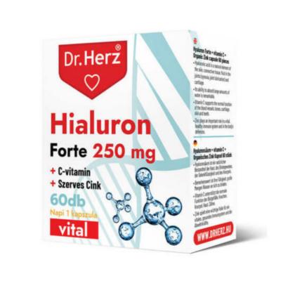 Dr. Herz Hialuron Forte 250 mg kapszula 60 db