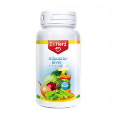 Dr. Herz Káposztaleves kapszula + almaecet + króm 50db