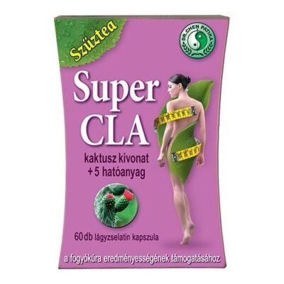 dr. Chen Szűztea Super CLA + kaktusz kivonattal 60db