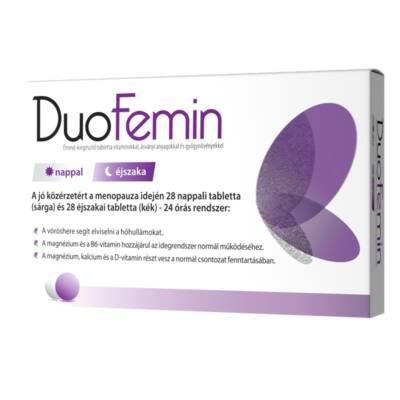 DuoFemin  tabletta 28 + 28 db Naturprodukt