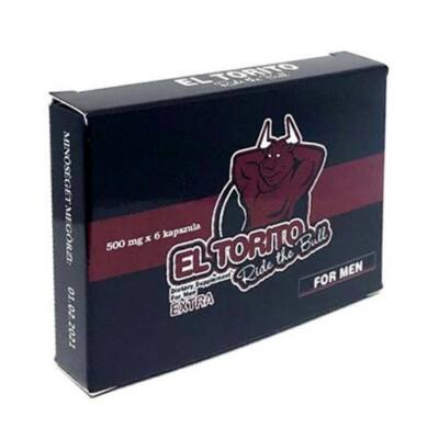 El Torito Extra kapszula 6 db