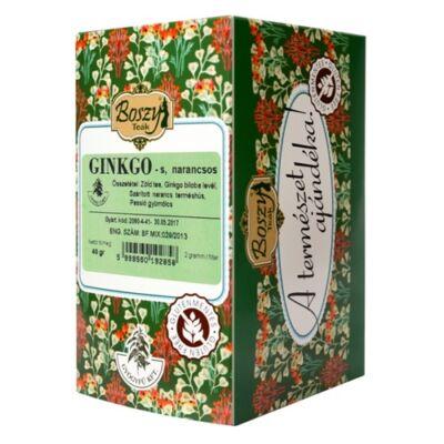 Ginkgo – narancs – zöld tea – teakeverék 20 filter Gyógyfű