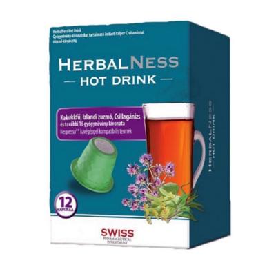 Herbalness Hot Drink megfázás elleni forró ital kapszula – 12db