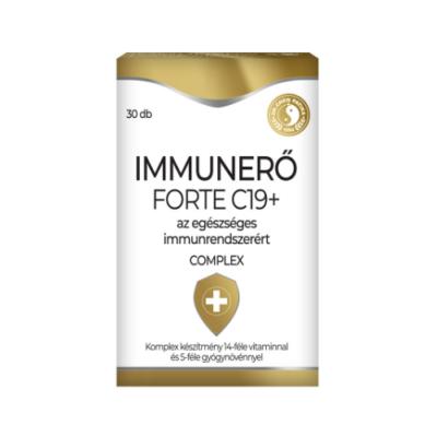 Immunerő Forte C19+ tabletta 30db Dr. Chen