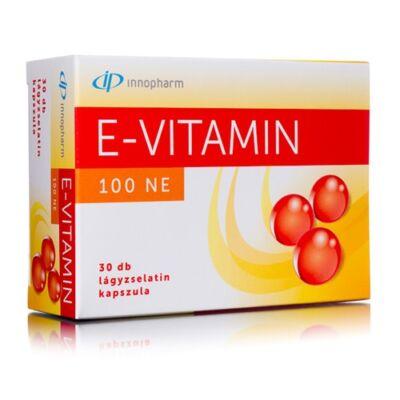 InnoPharm E-vitamin 100 NE lágyzselatin kapszula 30db