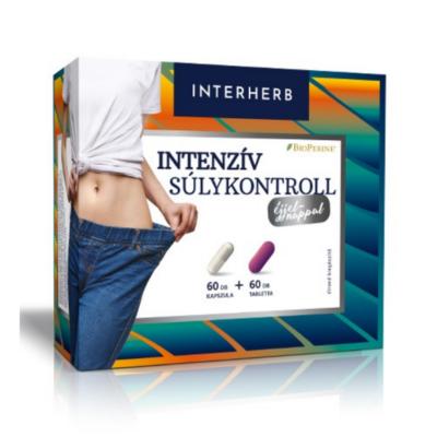 Interherb Intenzív SÚLYKONTROLL 2x60 db kapszula+tabletta