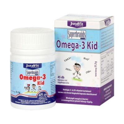 JutaVit Omega-3 KID rágótabletta 45db