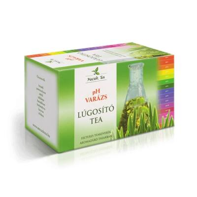 pH Varázs lúgosító tea 20 filter Mecsek Tea