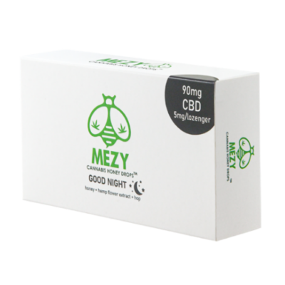 MEZY Good Night CBD mézpasztilla 90 mg